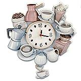 Sokaktaki Hediyem Coffee World Pendulum Clock-Wall...