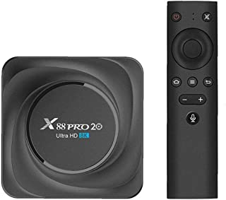 TV Box X88 PRO 20 Android 11 TV Box 4 GB RAM 32 GB ROM met afstandsbediening Ondersteuning Google Assistant Youtube Stream...