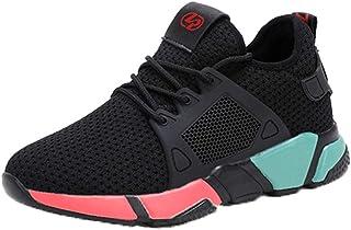 Calzado Deportivo para Mujer al Aire Libre para Correr Correr Trotar en Zapatillas de Deporte Transpirables con Cordones d...