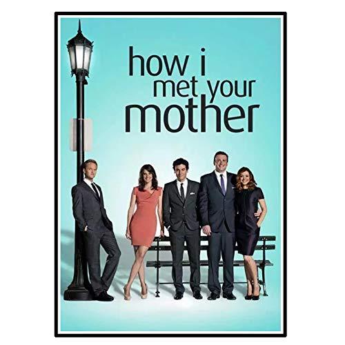 póster como conocí a vuestra madre de la marca YCCYI