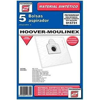 10 bolsas para aspiradoras Hoover Telios Plus te70 _ te30, te70 _ TE21, Telios Plus: Amazon.es: Hogar
