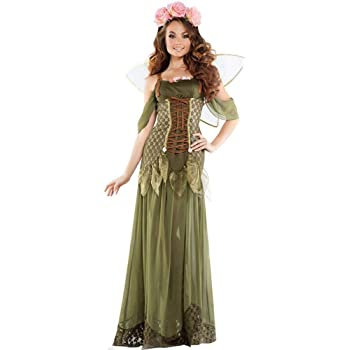 Fashion-Cos1 Elfo Verde Cosplay Vestido Bosque Hada Tinkerbell ...