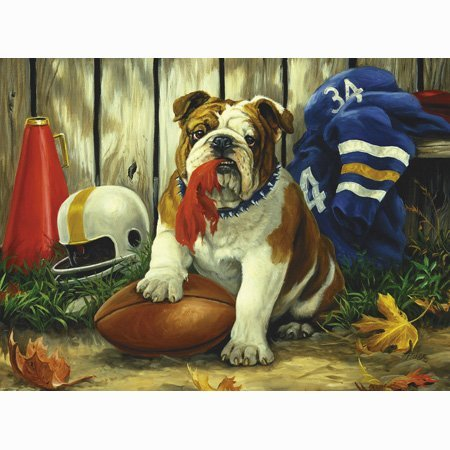 Great American Puzzle Factory Possession of The Football 550 Piece Puzzle by