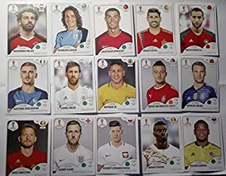 COMPLETE Collection Panini 2018 RUSSIA World cup 670 Stickers + Album FIFA International edition