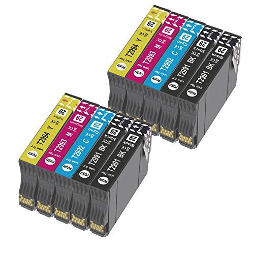 Teland 29XL - Cartucho de tinta compatible con Epson 29XL para Epson Expression Home XP-235 XP-245 XP-247 XP-330 XP-332 XP-335 XP-342 XP-345 XP-430 XP-432 XP-435 (10 unidades)