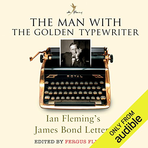 The Man with the Golden Typewriter audiobook cover art