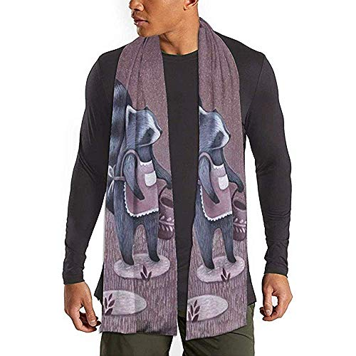 Riego Flores Imprimir Bufanda Moda Bufandas largas Bufanda cálida grande Chal para Mujeres Hombres