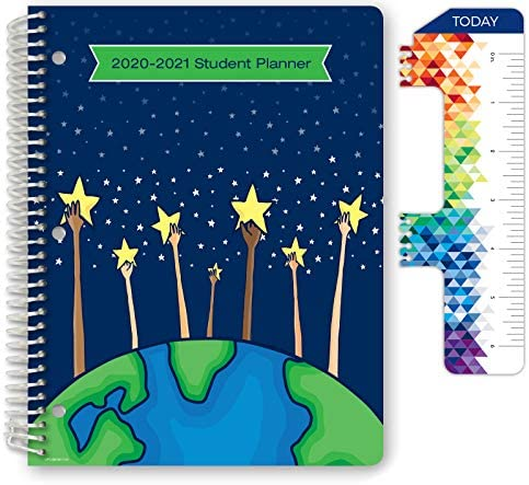Dated Elementary Student Planner for Academic Year 2020 2021 Matrix Style 8 5 x11 Reach for product image