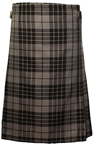 I Luv Ltd Tartan Ladies Flat Shoe Royal Stewart