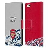 Head Case Designs Arsenal FC Coutume Personnalisé Typographie Photos Personnalisées Coque en Cuir...