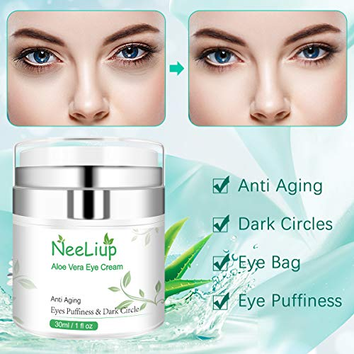 51YpSsJAxTL - Under Eye Cream - Eye Repair Cream for Anti Aging, Dark Circles & Puffiness Eye Bag Treatment with Retinol, AloeVitamin C & E Eye Repair Cream for Men Or Women's Eye Moisturizer