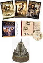 Ultimate Lord of the Rings Trilogy DVD Collection with Bonus Collectible Polystone Sculpture, Golum Documentary and J.R.R. Tolkien Master of the Rings DVD, CD & Booklet (Fellowship of the Rings/Two To