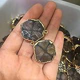Decor Stone Natural Staurolite Polished Fairy Cross Stone Pendant Mineral Specimen Necklace Reiki Crystal Stone 1pc