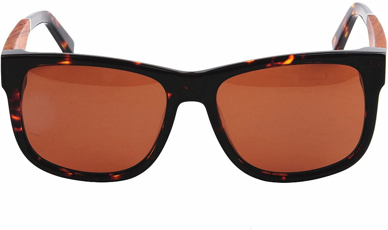 Women's Sunglasses Classic Polarized Acetate Fibre Frame Wood Leg TAC Lens UV Predection Driving Fishing Beach Outdoor Sunglasses, Fashion Sunglasses