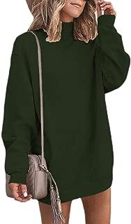 Women Casual Long Sleeve O Neck T-Shirts Tunic Blouse Loose Top