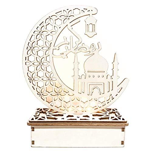 DecoracióN Led Eid Mubarak Eid Mubarak, RamadáN, Faroles RamadáN, Luces De Luna IsláMicas, Decoraciones Musulmanas, DecoracióN De Eid Mubarak, Regalos Decorativos Diy (D)