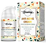 BLUSSHING Advance Anti Aging Night & Day Cream 50GM-For Wrinkles,Fine Lines,Skin Brightning