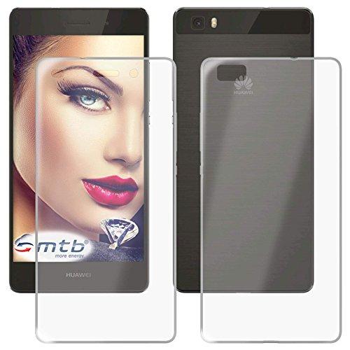 mtb more energy® 360° TPU + Hardcover (Vorder- & Rückseite) für Huawei P8 Lite (5.0