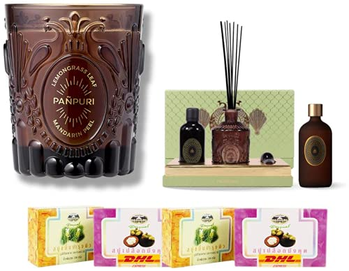 Set A66 Panpuri Balance Selling and selling Botany Your Pers Ranking TOP4 Candle Ambiance