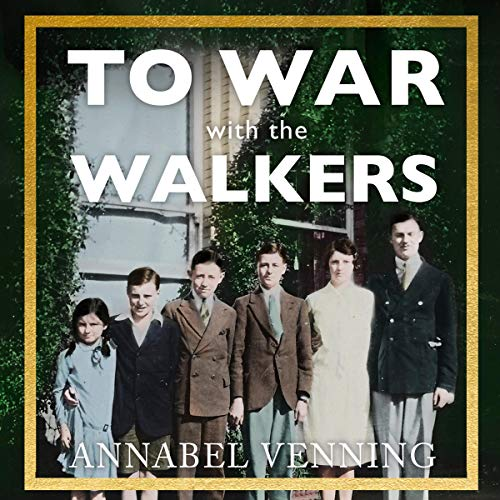 To War with the Walkers audiobook cover art
