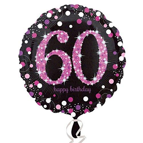 amscan Milestone - Palloncino Festa Compleanno (Anni 18-100) (Taglia Unica) (60)