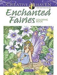 enchanted fairies coloring book - Fantasy Coloring Book