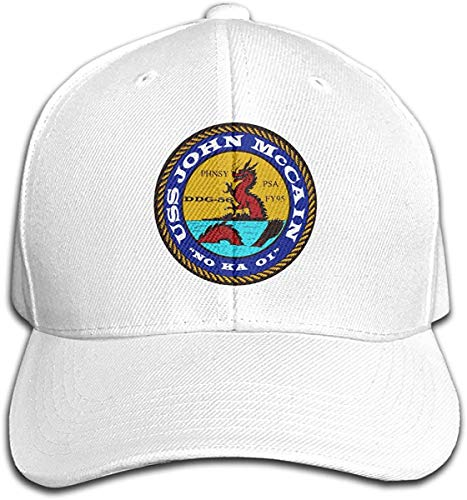 USS John McCain Decals Stickers DDG-56 Adjustable Trucker Baseball Cap