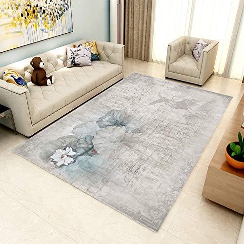 RRight! Tapis de Sol Morden Carpet Multicolore pour intérieur ou extérieur,C,160x230CM
