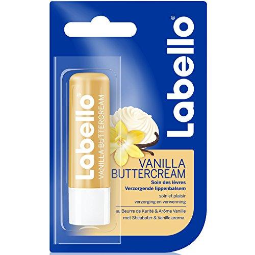 Labello Vanille Crème Beurre 4,8 g - Lot de 2
