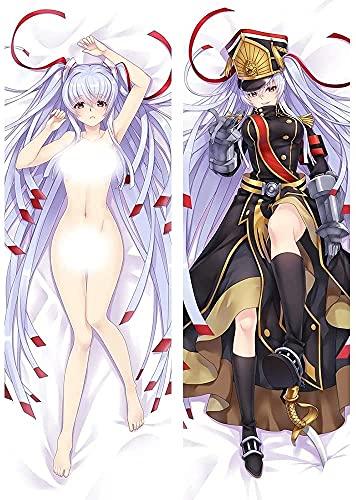 Wtinixtg Re: Creators 17038-2 Altair Military Princess Anime Funda de Almohada/Funda de Almohada de carrocería, Cubiertas de Cojines Favoritos de Anime, Patrón de Doble Cara Piel de melocotón / 2WT