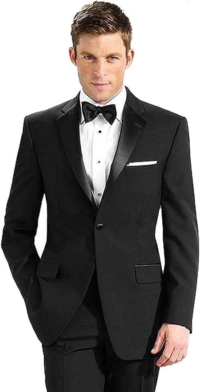 Neil Allyn 100% Polyester Tuxedo Jacket, Black, 46 Long