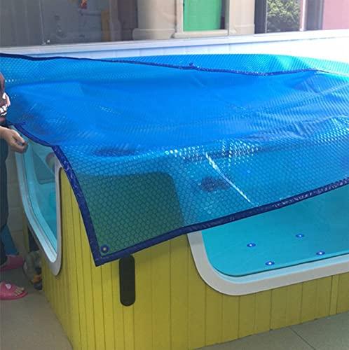 ZAQI Cobertor Solar Piscina Mantas solares para Piscinas a Prueba de Polvo Cubierta Protectora rectangulares Piscinas sobre el Suelo, 4 8 12 16 20 14 26 pies de Largo (Size : 1m x 2m(3ft×6ft))