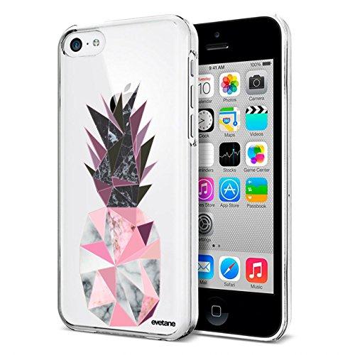 Carcasa para iPhone 5C, diseño de piña geométrica, mármol