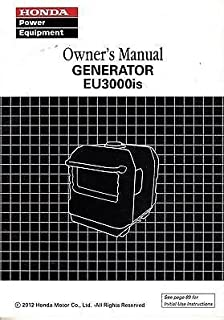 2012 HONDA POWER GENERATOR EU3000is OWNERS MANUAL (974)