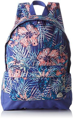 ROXY Damen Sugar Baby Mittelgroßer Rucksack SUGAR BABY, Royal Blue Beyond Love, 32 x 11 x 41 cm, ERJBP03406