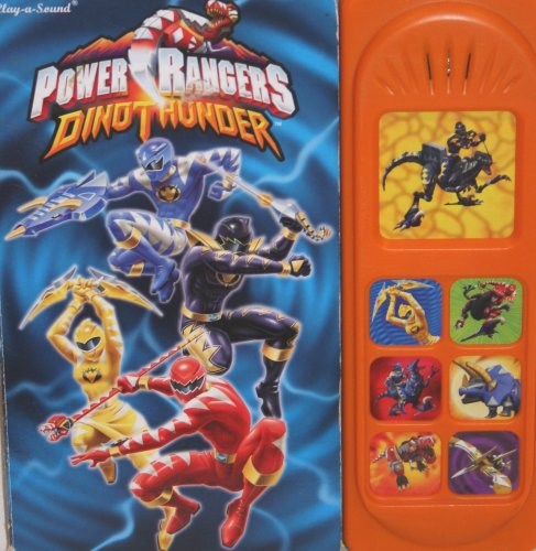 Power Rangers Dino Thunder play a sound book