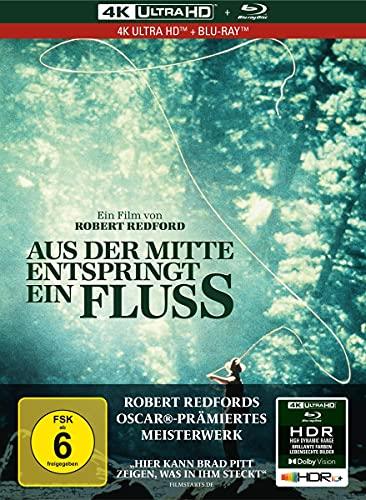 Aus der Mitte entspringt ein Fluss - 2-Disc Limited Collector's Edition im Mediabook (4K Ultra HD) (+ Blu-ray 2D)
