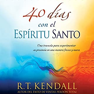 40 días con el espíritu Santo audiobook cover art