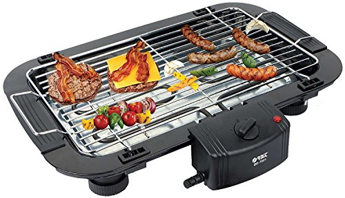 Orbit Electric Barbeque Grill 2000w Tandoori Maker Model -7001 with 5 Skewers (Black)