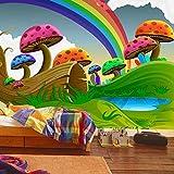 Papel Pintado Fotográfico Setas De Colores No-Trenzado Salón Dormitorio Despacho Pasillo Decoración Murales Decoración De Paredes Moderna 200X140Cm