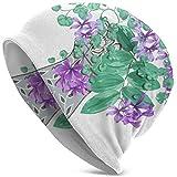 Maselia Bonnets pour Hommes Femmes - énorme Bouquet Floral Fleurs Exotiques Bonnet Tropical