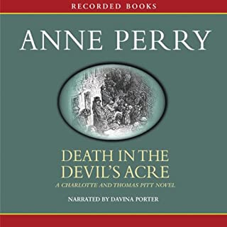 Death in the Devil's Acre audiobook cover art