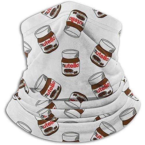 Linger In Lustige Nutella-Halswärmer-Schal-Gamaschen-Gesichtsmaske Bandanas für Staub-Winter des kalten Wetters draußen