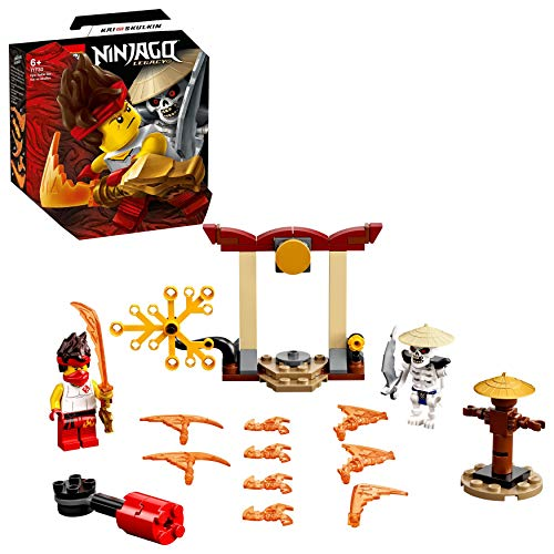 LEGO 71730 NINJAGO Battle Set: Kai vs. Skulkin mit Actionkreisel