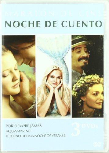 Pack Maraton De Cine: Noche De Cuento: Por Siempre Jamás + Aquamarine + El Sueño De Una Noche De Verano De William Shakespeare... [DVD]