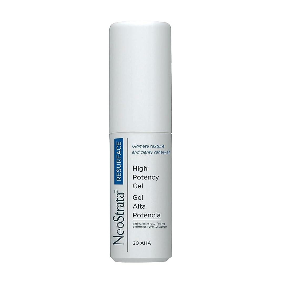 表面乱闘カトリック教徒Neostrata High Potency Gel Anti-wrinkle Resurfacing Moisturizing 30ml [並行輸入品]