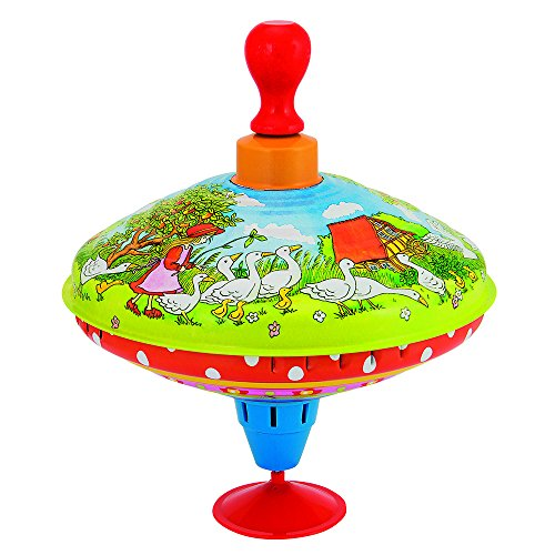 Goki- Juegos De Viaje Y De Bolsillo Novedades En Peonzas, Multicolor (53057)