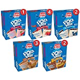 Kellogg's Pop-Tarts Display Pack Assortment, 21.75 Ounce (Pack of 72)