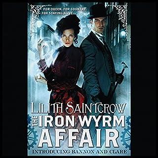 The Iron Wyrm Affair audiobook cover art