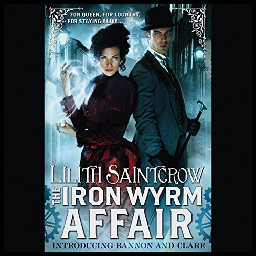 The Iron Wyrm Affair audiobook cover art